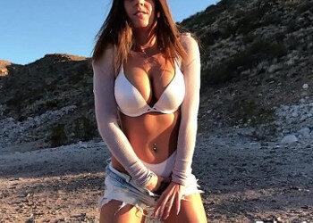Imagen Hace twerking y regala unas mamadas a su chico al aire libre